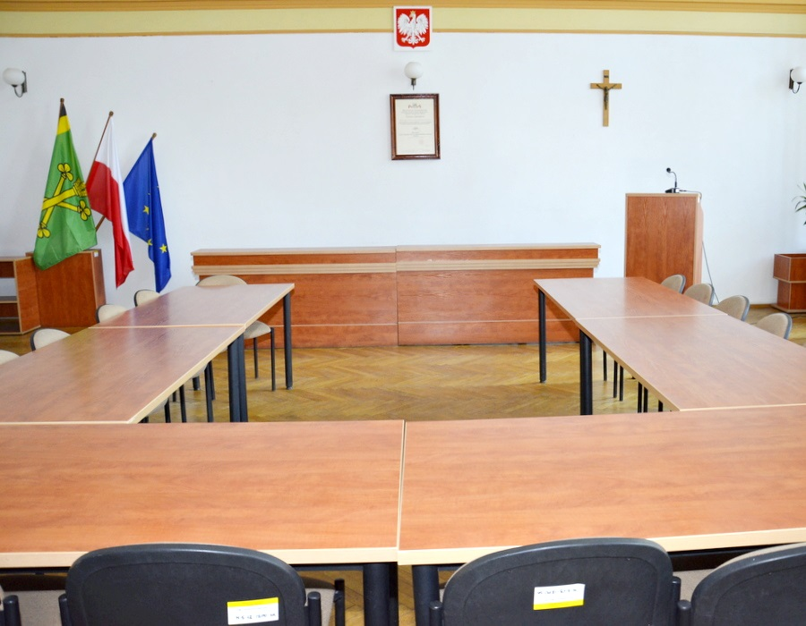 Ilustracja do informacji: Zapraszamy na sesję rady powiatu
