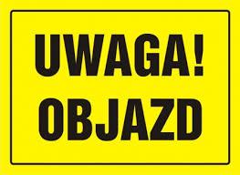 Ilustracja do informacji: Uwaga - utrudnienia w Kątach Wrocławskich