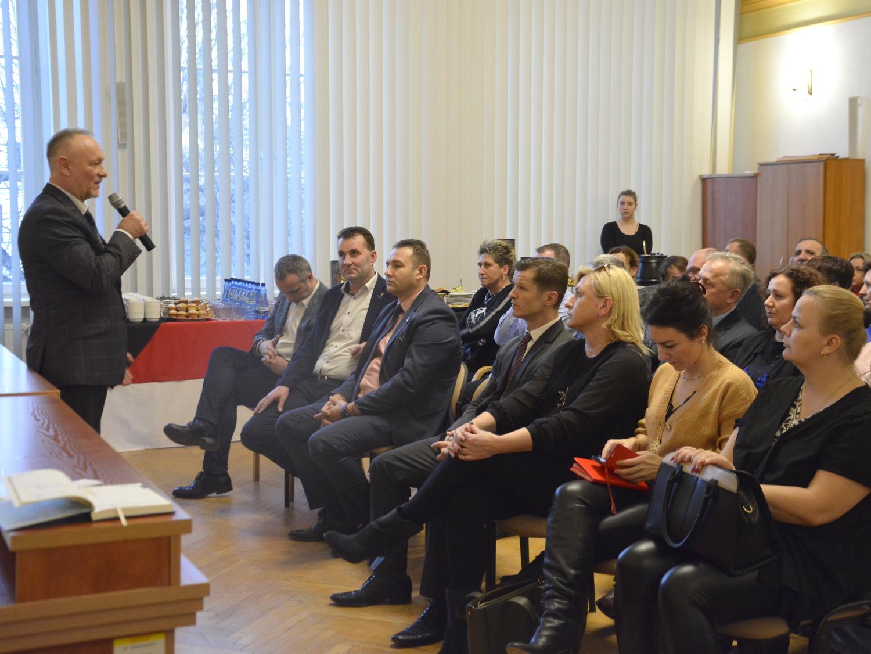 Ilustracja do informacji: Spotkanie sołtysów i samorządowców